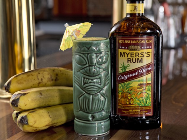 WCPO AUGUST 15, 2015 - NORTHSIDE YACHT CLUB - Take a look inside Northside Yacht Club, a new bar and music venue in the former Mayday space in Northside, at 4227 Spring Grove Ave. A banana rum daquari is served in a tiki glass. Photo: David Sorcher
