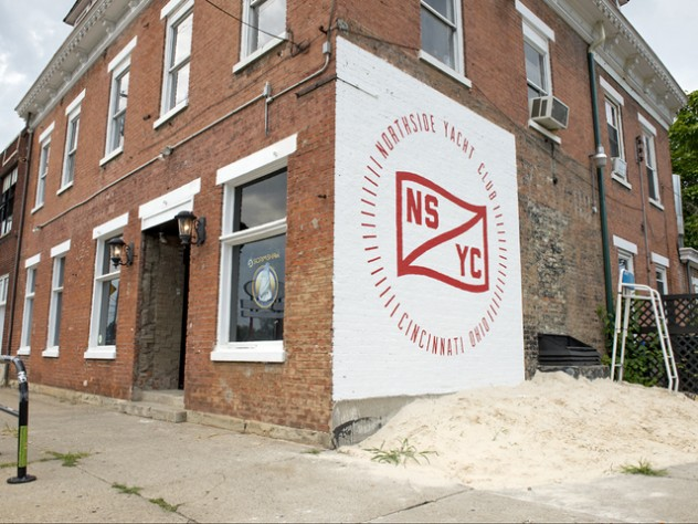 WCPO AUGUST 15, 2015 - NORTHSIDE YACHT CLUB - Take a look inside Northside Yacht Club, a new bar and music venue in the former Mayday space in Northside, at 4227 Spring Grove Ave. Photo: David Sorcher