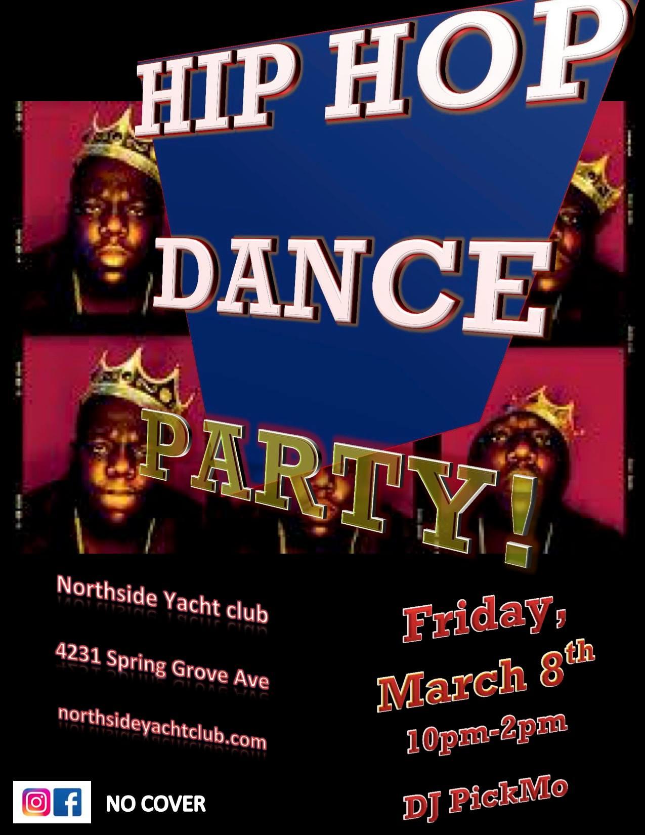 HIP HOP DANCE Party! – Northside Yacht Club